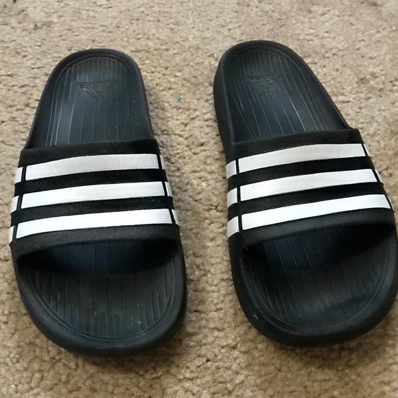950316d7e adidas Shoes | Duramo Slide Flip Flop Boys K5 | Poshmark